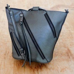 Metallic Cross-Body Bracelet Bag